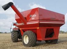 E-Z Trail grain truck trailer