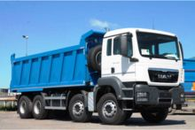 2016 MAN TGS 41.400 dump truck
