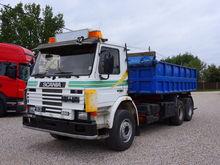 1994 SCANIA P93 dump truck