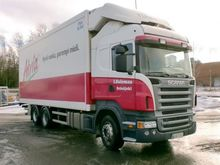 2006 SCANIA R500 refrigerated t