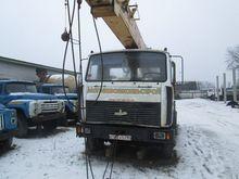 2000 MAZ 533702 mobile crane