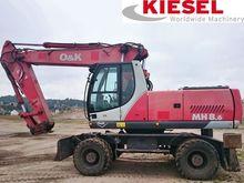 2004 O&K MH8.6 wheel excavator