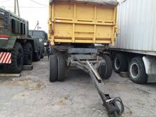 2008 NEFAZ 8560 tipper trailer