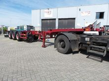 BROSHUIS container chassis semi