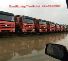 2015 HOWO 380 dump truck