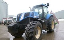 2013 HOLLAND T8.360 Tractor whe