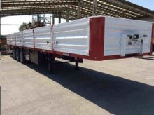 2017 Maral Trailer flatbed semi