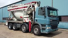 Used 2005 DAF concre