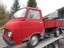 1976 SKODA-LIAZ 1203 flatbed tr
