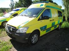 2012 MERCEDES-BENZ VITO ambulan