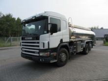 2004 SCANIA P114 milk tanker