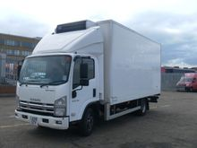 ISUZU N75.190 refrigerated truc
