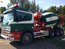 2000 SCANIA 114 8X4 betoniarka