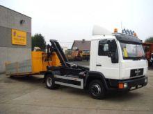 2000 MAN 8.150 flatbed truck
