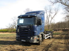 1999 SCANIA R124 chassis truck