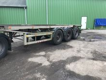 1989 VAN HOOL container chassis