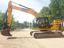 2012 JCB JS 220 LC tracked exca