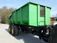 2000 JAKO 1500 tipper trailer
