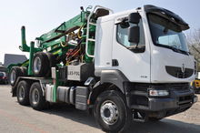 2013 RENAULT KERAX timber truck