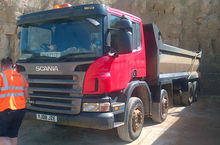 2008 SCANIA P340 Day Cab dump t