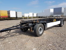 2006 KRONE container chassis tr