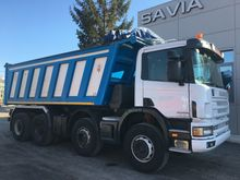 1999 SCANIA 124-420 dump truck