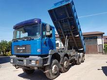 2002 MAN FE 410A 8x8 dump truck