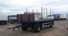 1991 EGGERS timber trailer