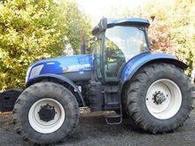 2009 HOLLAND T7070 AC wheel tra