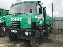 1989 TATRA T 815 6x6 dump truck