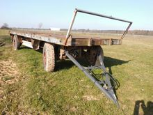 1974 KRONE AZP 14 flatbed trail