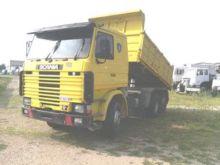 1996 SCANIA 143.450 dump truck