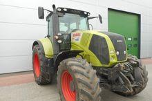 2011 CLAAS Axion 810 wheel trac