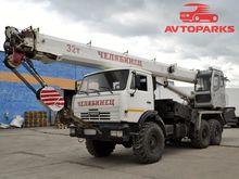 2013 KAMAZ KS-55733 mobile cran