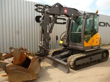 2013 MECALAC 10MCR tracked exca