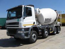 2007 DAF CF85.380 concrete mixe