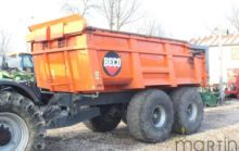 2005 BECO Gigant 160 tipper tra