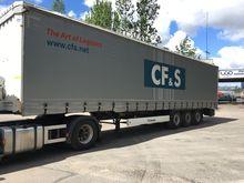 2013 KRONE SD tilt semi-trailer