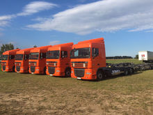 2013 DAF XF105.460 chassis truc