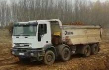 2004 IVECO 41 E 440 trakker dum