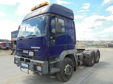 Used 2002 IVECO 6x4,