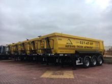 TUBE HALF T tipper semi-trailer