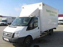 2013 FORD FMF6 closed box truck