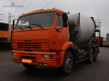 2008 KAMAZ 6520-61 concrete mix