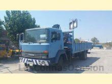 1990 NISSAN N130 flatbed truck