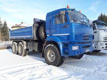 2011 KAMAZ dump truck