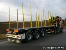 SKOVTRAILER timber semi-trailer