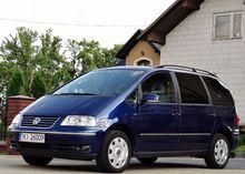 2007 VOLKSWAGEN Sharan minivan