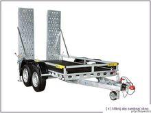 WIOLA B2640 low loader trailer