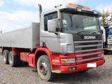 1997 SCANIA 94C dump truck